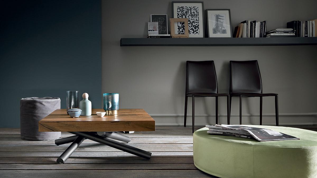 tavolino trasformabile levante base in metallo 1