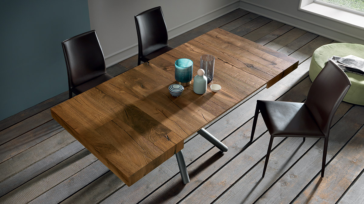 tavolino trasformabile levante base in metallo 5